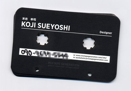 cassette-business-cards