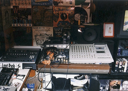 From. Madlib s Early Bedroom Studio   Vinyl Collection